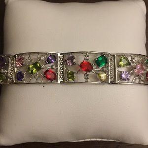 Jewelry - Silver Gemstone Bracelet